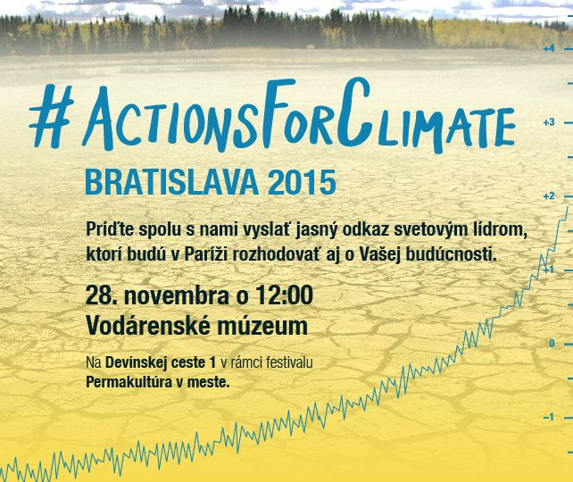 Actions For Climate_Pozvanka