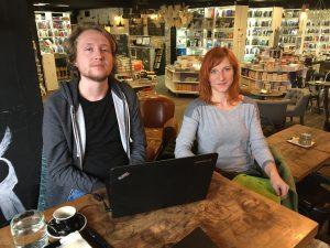 Bývalý asistent SAPI Dominik Kopcsay a nastupujúca asistentka Ivana Kukanová
